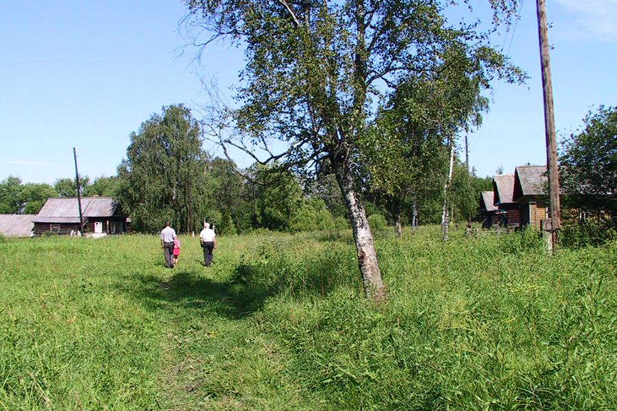 Село Покровское на реке Кашинке, 2004 г.