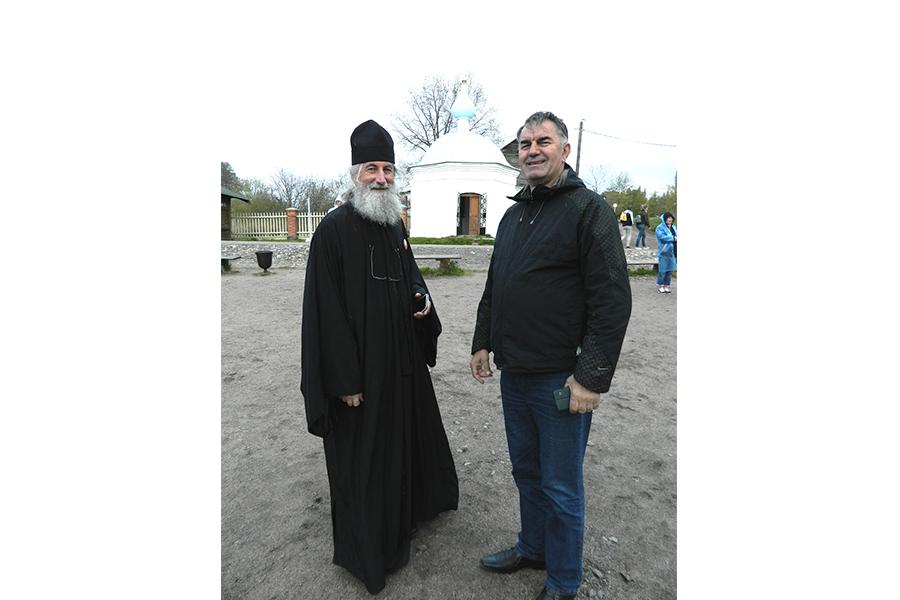 Посещение Валаама протоиереем Иоанном Пламенацом во дни Всеславянского съезда