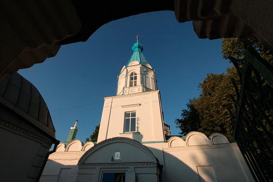 Восстановленная церковь в селе Маково
