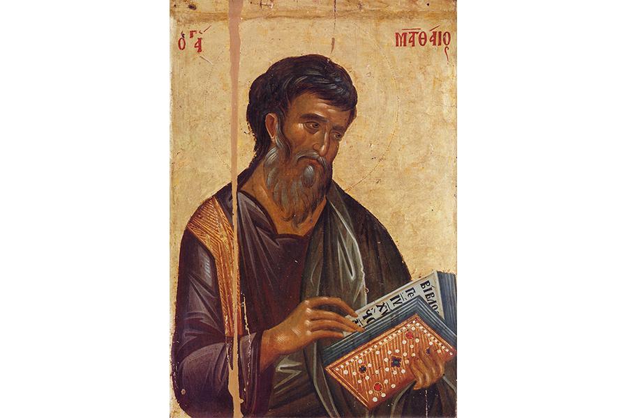 Апостол Матфей, икона