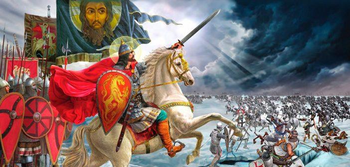 Святой защитник земли Русской