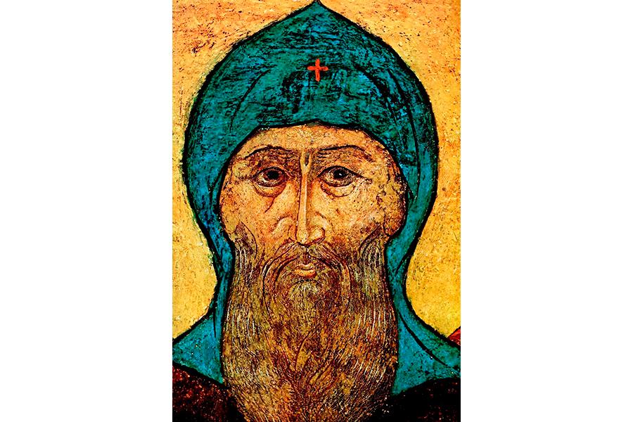 Святой благоверный князь Даниил Московский, фреска
