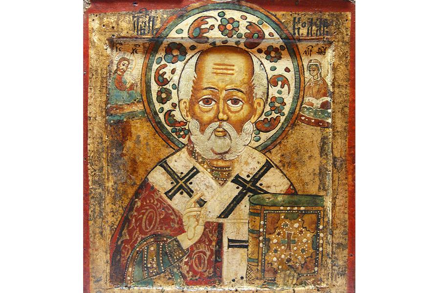 Святитель Николай Чудотворец, икона Русского Севера
