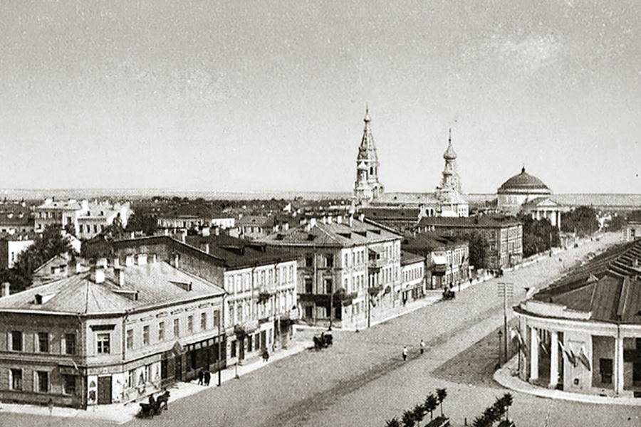 Кронштадт. Старинная открытка