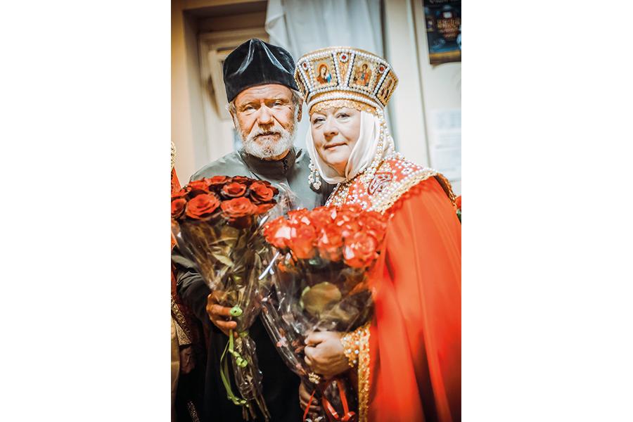 Никита Сергеевич Астахов и Татьяна Георгиевна Белевич