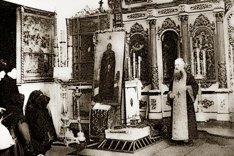 Первоначальное место погребения святой благоверной княгини Анны Кашинской в Успенском соборе г. Кашина