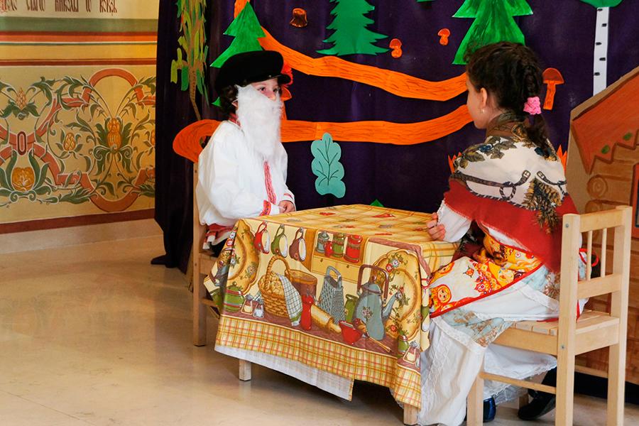 Школьный спектакль в праздник Святителя Николая