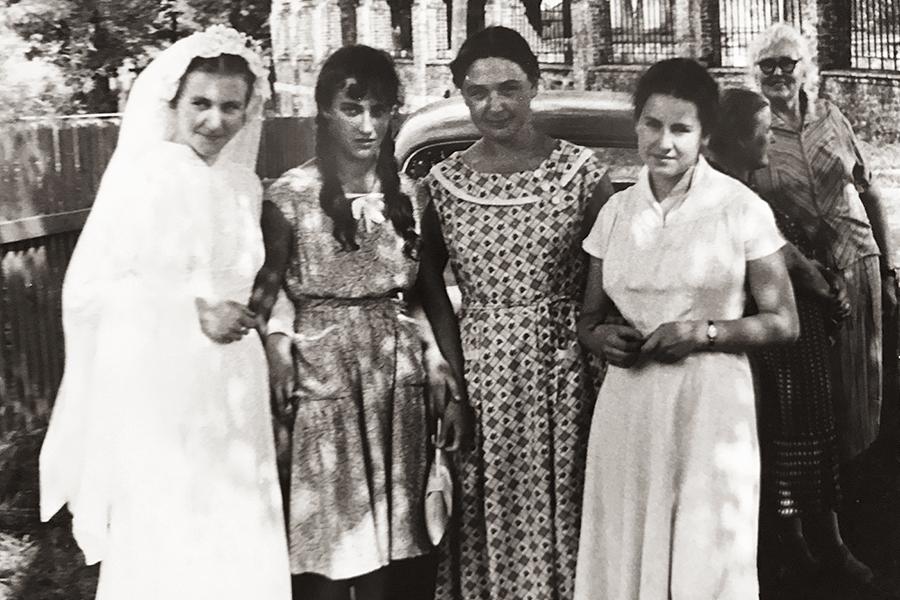 13 июля 1960 г. День венчания Николая Кречетова и Екатерины Пелих