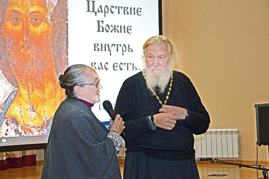 Встреча игумена Киприана и Тамары Александровны Берсеньевой
