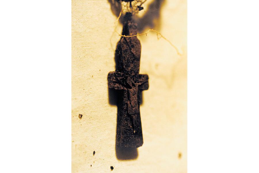 Нательный крест Матроны