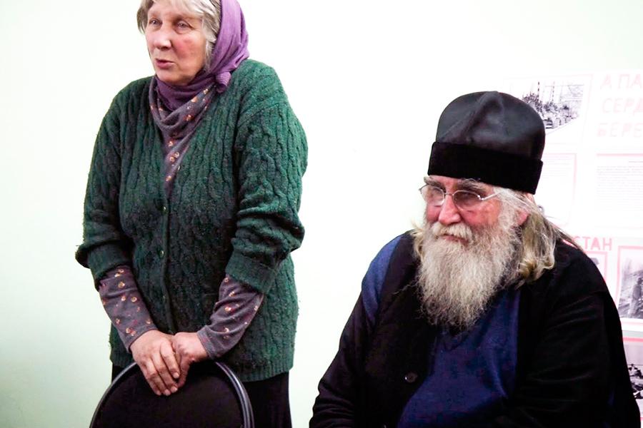 Протоиерей Виктор Салтыков и матушка Наталья Бухарова