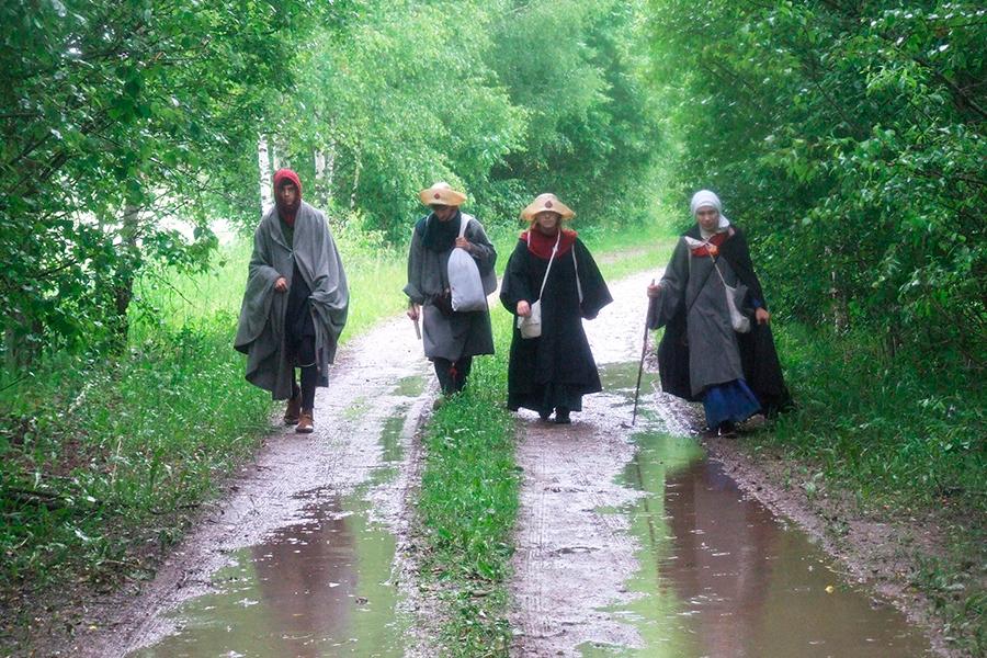Паломники на пути святой Марии