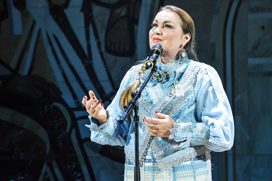 Народная певица России Татьяна Юрьевна Петрова