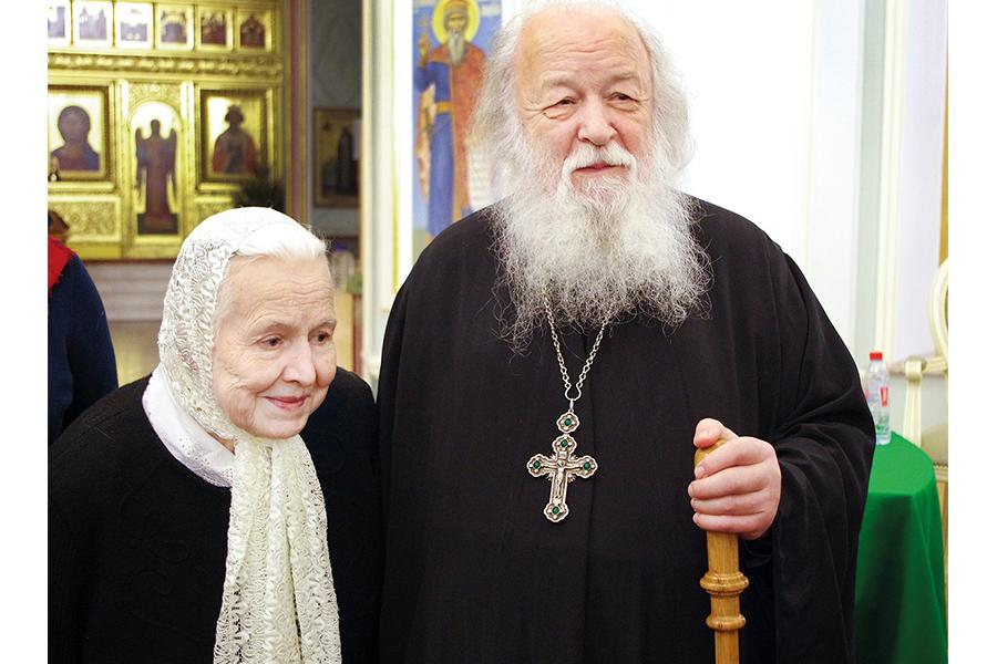 С матушкой Натальей Константиновной