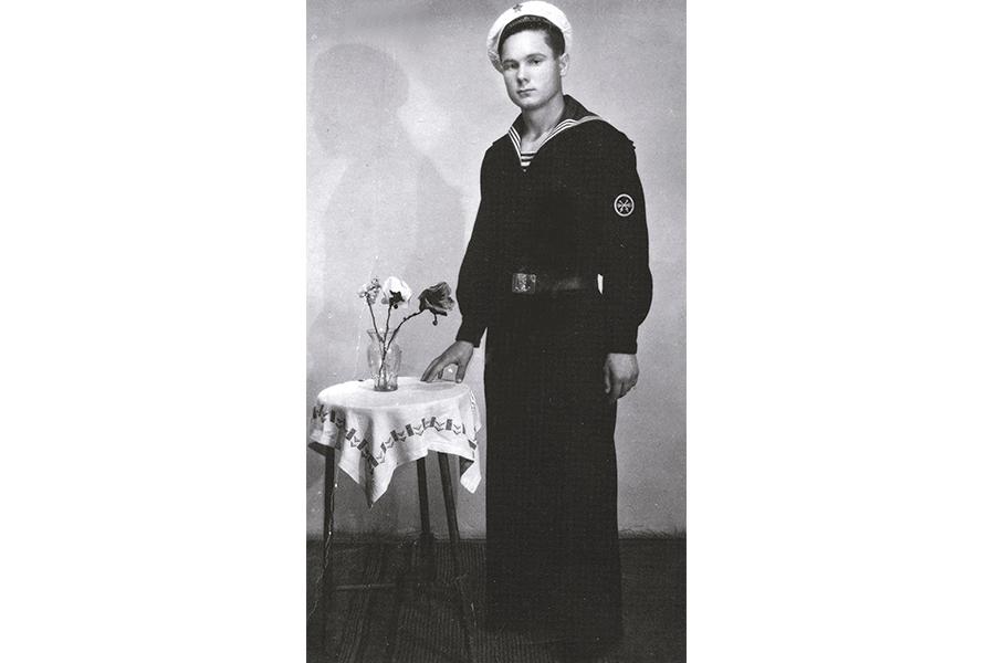 Константин Долгов, служба во флоте