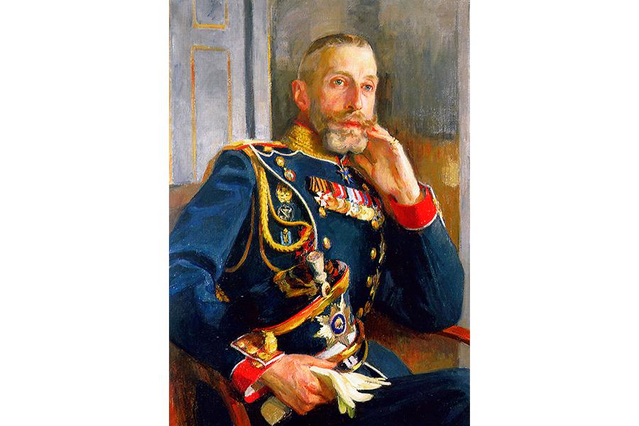 Константин Романов. Портрет И.Е. Репина. 1891 г.