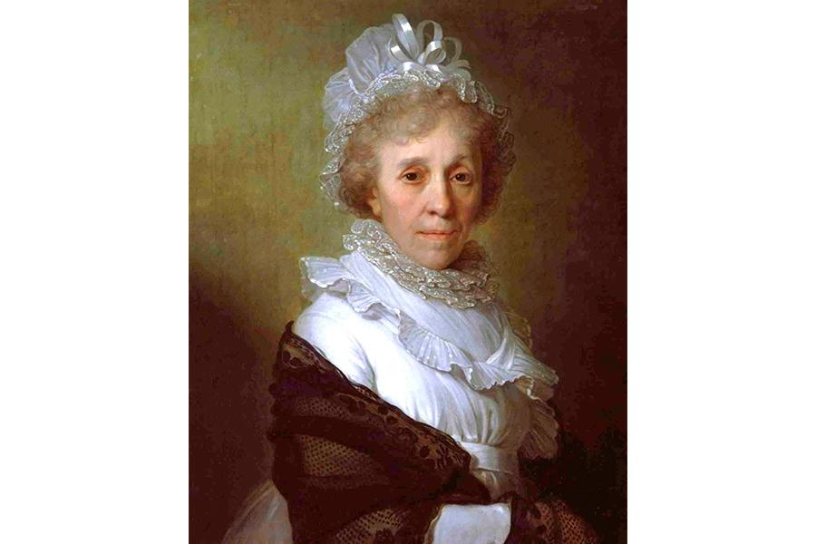 Мария Алексеевна Ганнибал, бабушка поэта