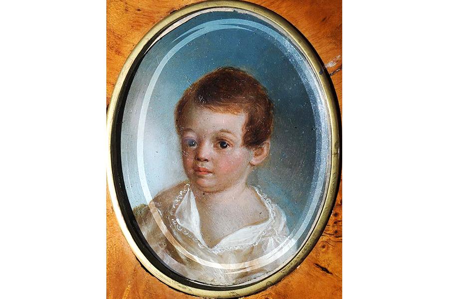 Миниатюра художника Ксавье де Местр, 1801-1802 гг.