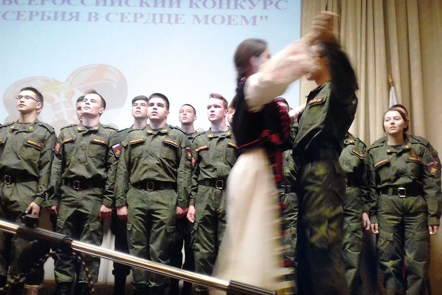 Хор учебно-военного центра при МГМСУ им. А.И. Евдокимова, г. Москва