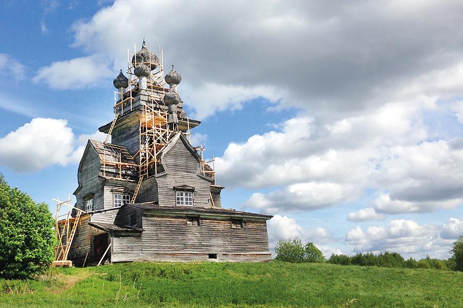 Храм Владимирской иконы Божией Матери в Архангельской области