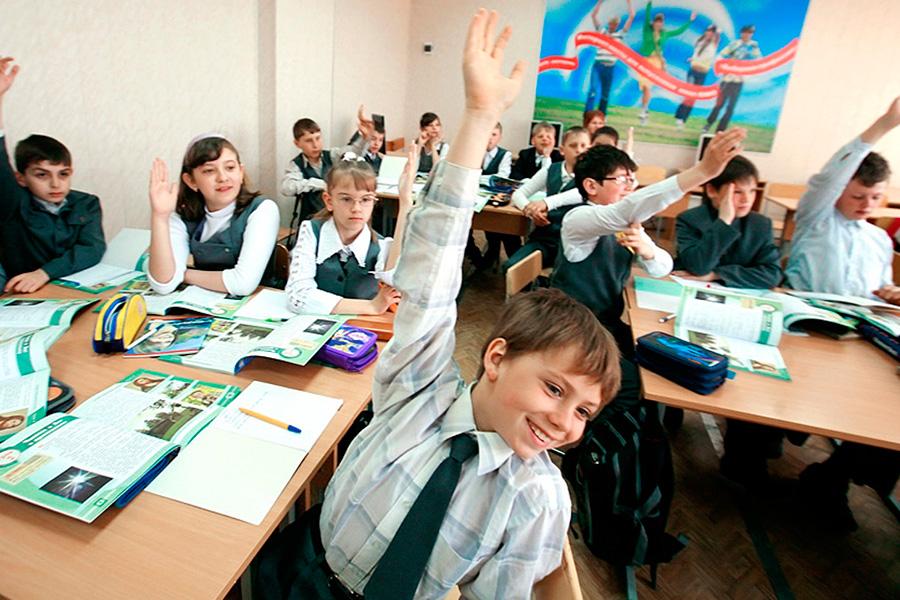 В российской школе