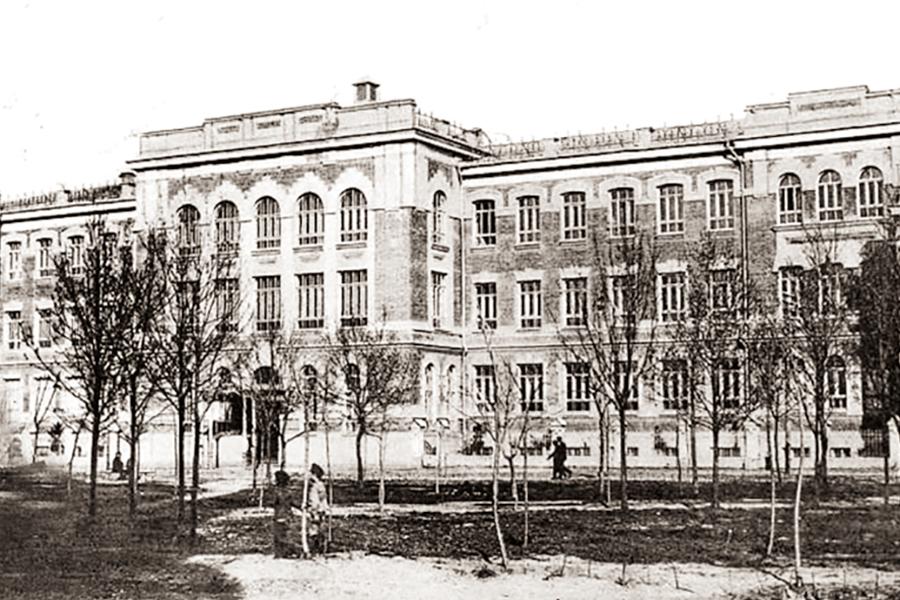 Первая мужская гимназия в Екатеринодаре