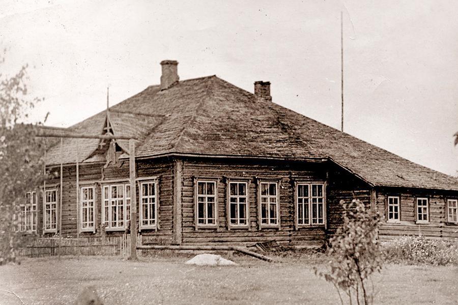 Клепцовская начальная школа в 1950-1970 гг.