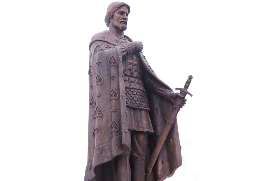 Памятник великому князю Александру Невскому в Александрове