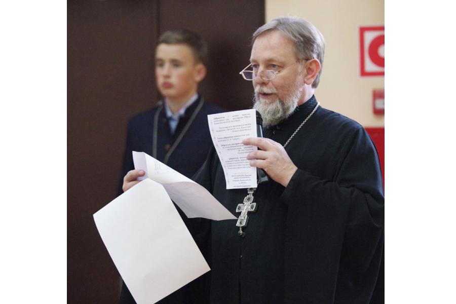 Протоиерей Евгений Худин, руководитель Отдела образования и катехизации Нижегородской епархии