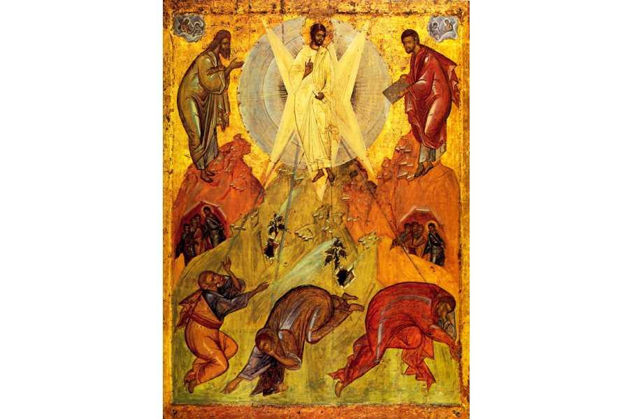 Преображение Господне. Икона Феофана Грека, XIV век