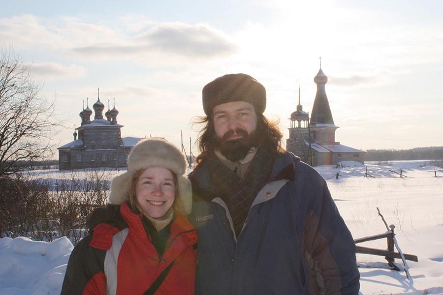 Протоиерей Алексий Яковлев и его супруга Татьяна Юшманова