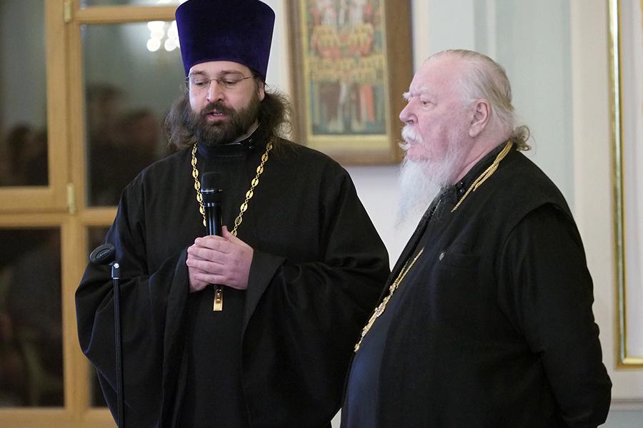 Протоиерей Димитрий Смирнов и протоиерей Алексий Яковлев