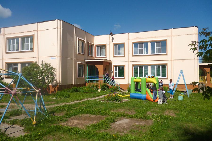 Современная школа в селе Уницы
