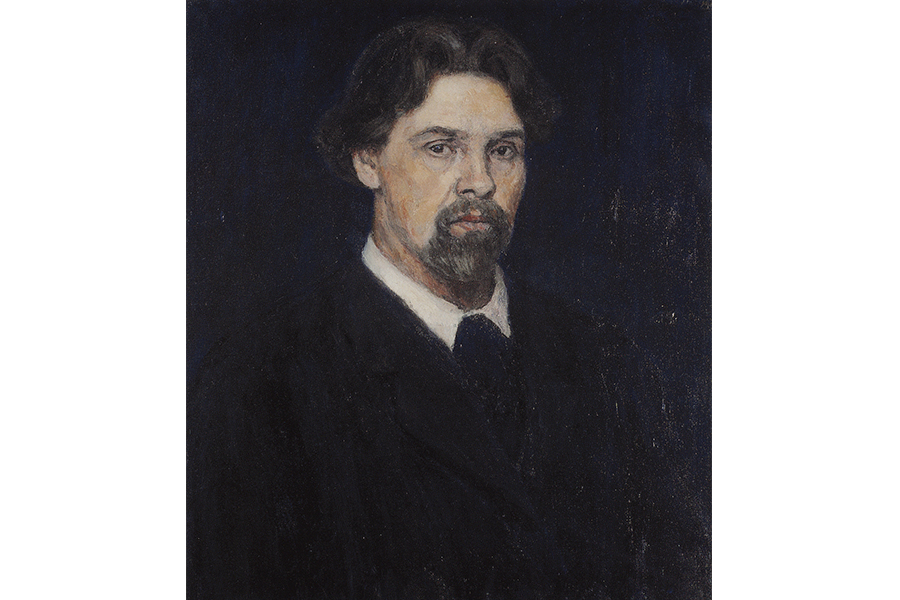 В.И. Суриков. Автопортрет. 1915. ГТГ