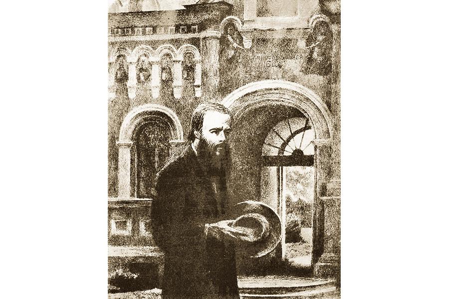 Ф.М. Достоевский в Оптиной пустыни