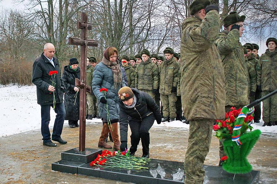 Могила Неизвестного солдата на Бородинском поле