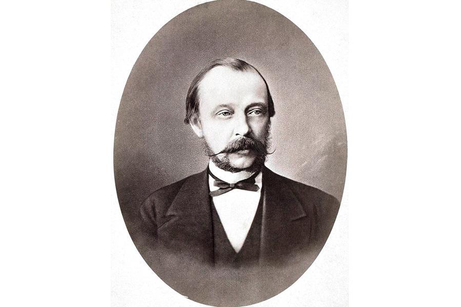 Обер-прокурор Святейшего Синода граф Д.А. Толстой