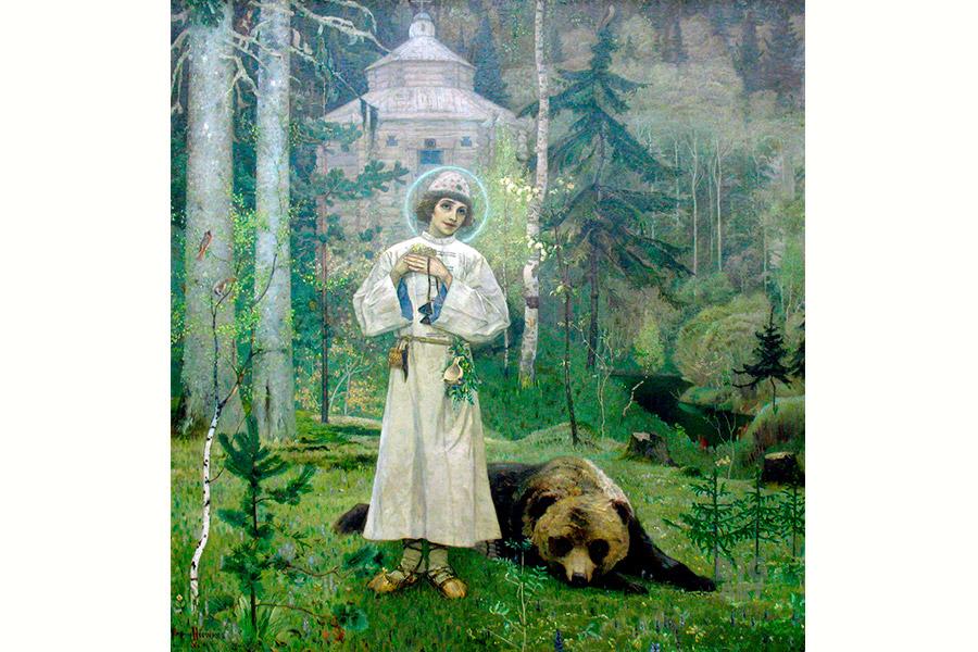 М.В. Нестеров. Юность Преподобного Сергия. 1892–1897 гг.