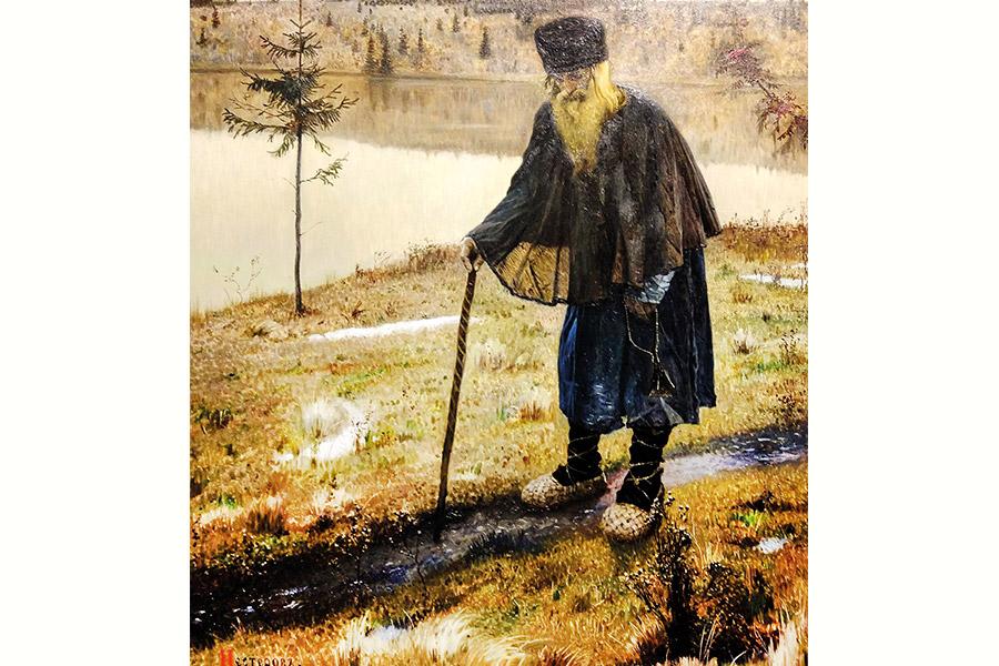 М.В. Нестеров. Пустынник. 1888 г.
