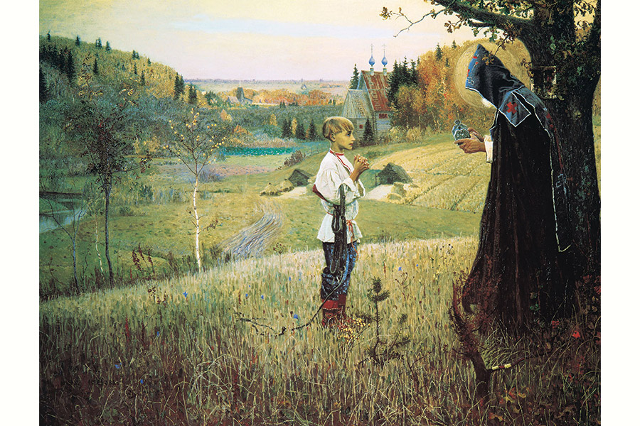 М.В. Нестеров. Видение отроку Варфоломею. 1889–1890 гг.