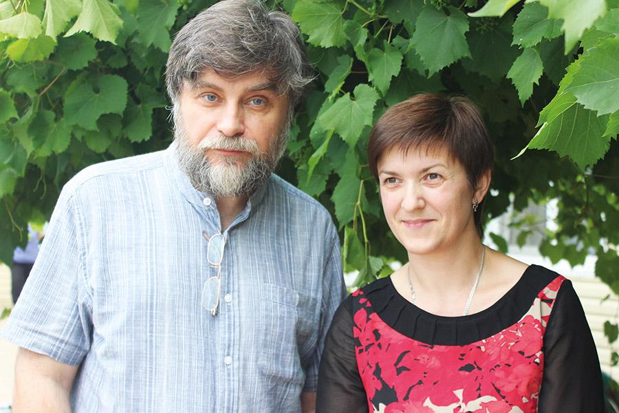 Ирина Григорьевна Заверюха и Андрей Александрович Остапенко