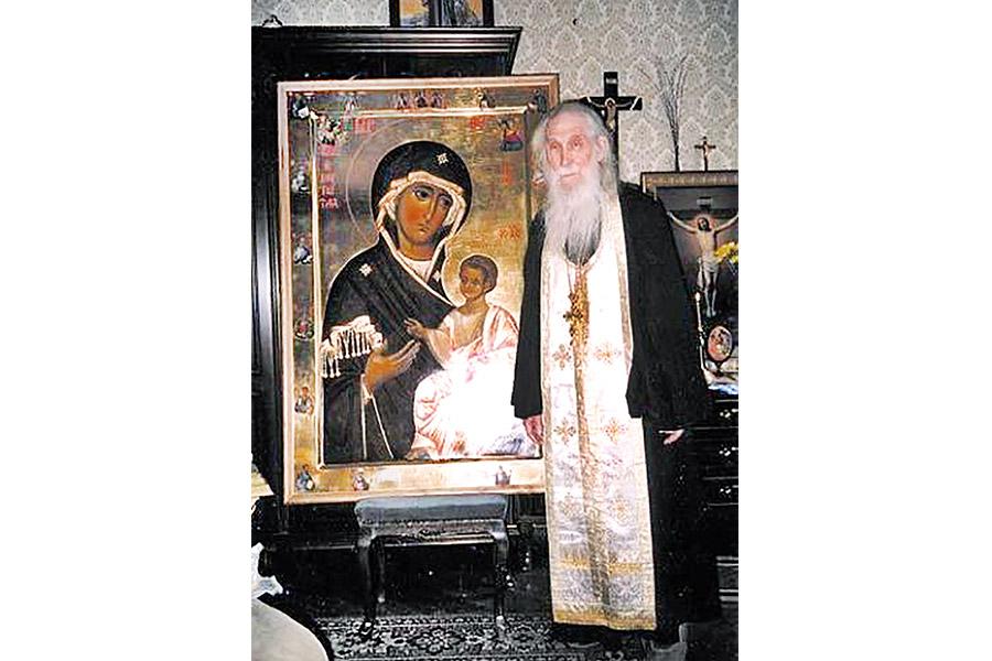 Отец Кирилл (Павлов) в 1990-е гг.