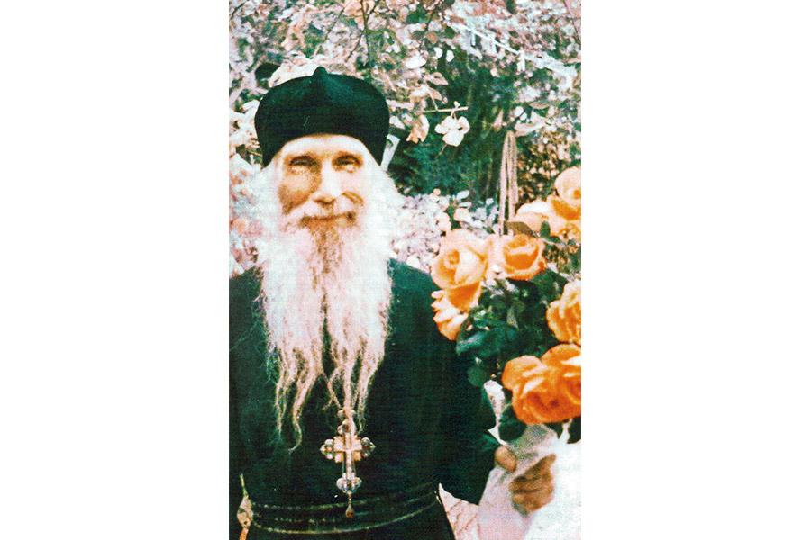 Отец Кирилл (Павлов) в 1982 г.