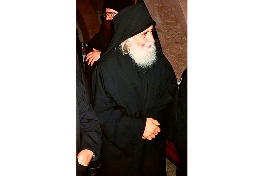 Святой старец Паисий Святогорекц