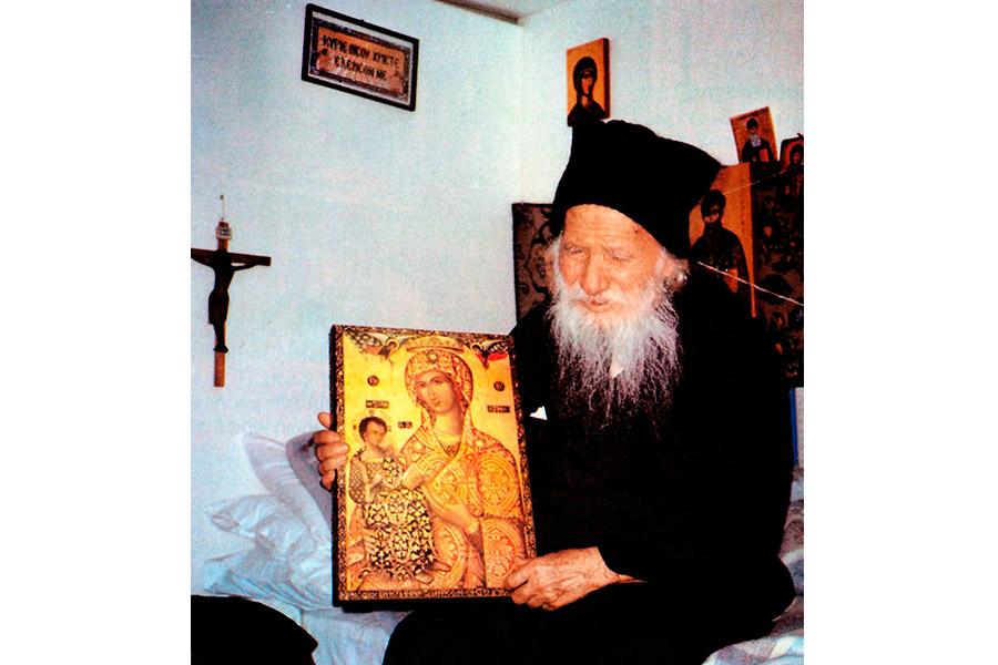Афонский старец Порфирий Кавсокаливит