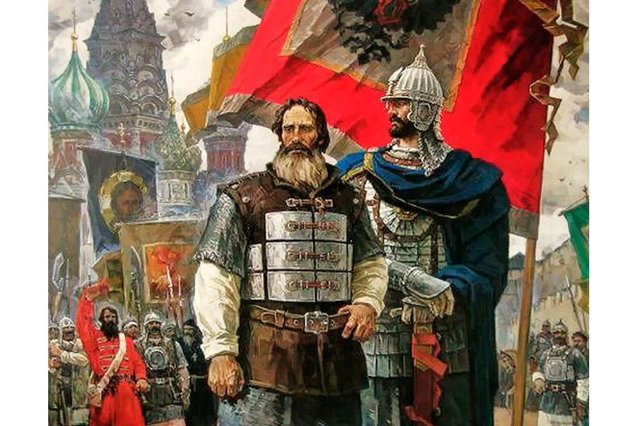 Минин и Пожарский. С картины Ивана Пантюхина