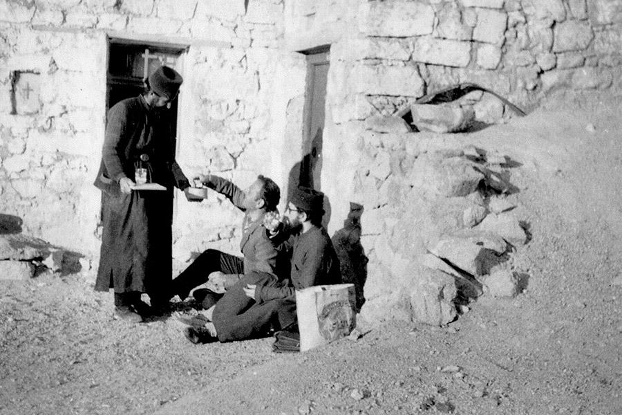 Паисий Святогорец на Синае
