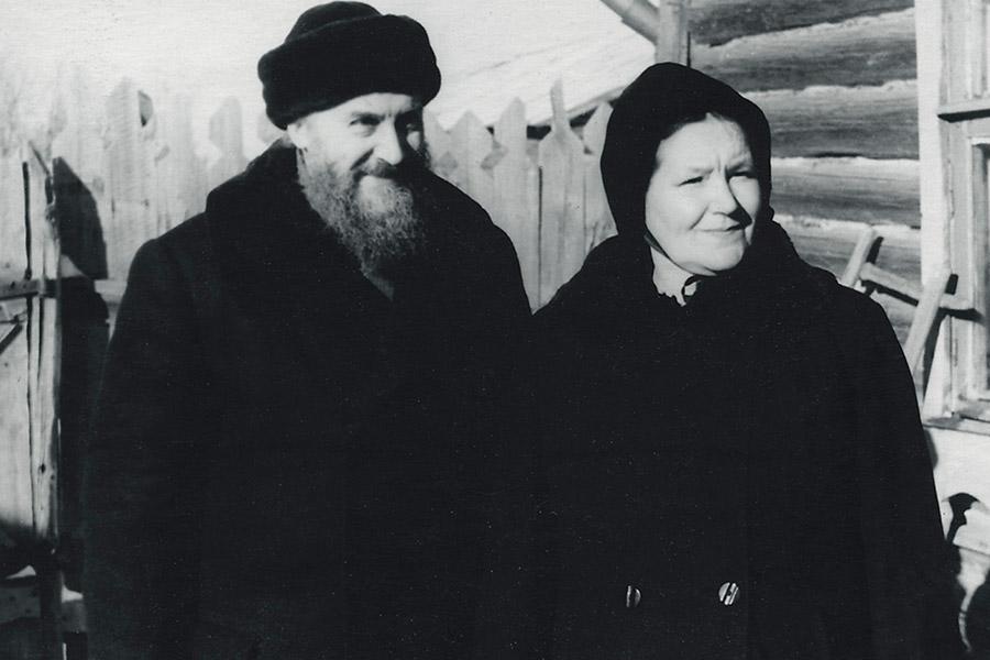 Родители отца Валериана протоиерей Михаил и Любовь Владимировна Кречетова