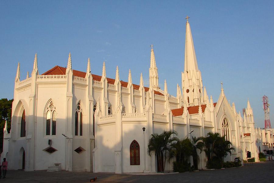 Кафедральный собор во имя апостола Фомы. Ченнаи, Индия