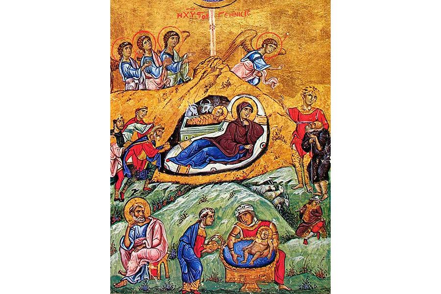 Рождество Христово. Книжная миниатюра